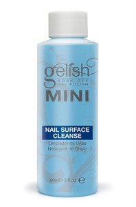 Жидкость для снятия липкого слоя GELISH MINI Nail Surface Cleanser, 60 мл.