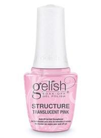 Укрепляющий гель с кисточкой Gelish Structure Gel Translucent Pink, 15 мл. прозрачно-розовый