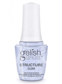 Укрепляющий гель с кисточкой Gelish Structure Gel Clear, 15 мл. прозрачный