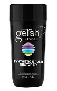 Жидкость для очистки кистей Gelish PolyGel Synthetic Brush Restorer, 120 мл.