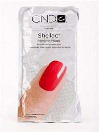 Замотка CND Shellac Remover Wraps, 10 шт.  для удаления гель-лака