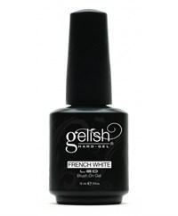 GELISH Hard Gel - French White, 15 мл. - ярко-белая краска для французского маникюра