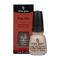 Выравнивающая база China Glaze Ridge Filler, 14 мл. покрытие под лак