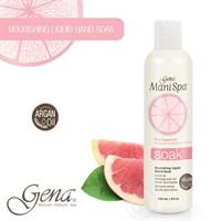 Gena Mani Spa Liquid Soak, 236 мл. - Очищающее замачивание для рук с аргановым маслом