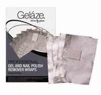 Gelaze Gel & Nail Polish Remover Wraps, 100 шт. - фольга для удаления гель лака