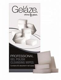 Gelaze Gel Polish Cleansing Wipest - безволоконные спонжи