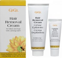 GiGi Hair Removal Cream-For Legs & Bikini - Крем для удаления волос(зоны бикини и ног),56гр.+успокаивающий бальзам 14гр.