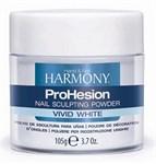 HARMONY ProHesion Vivid White Powder, 105 гр. - яркая белая акриловая пудра для наращивания френча