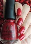 """China Glaze Ruby Pumps, 14мл.-Лак для ногтей """"Рубиновые туфли"""" - фото 19786"""