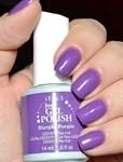 "IBD Just Gel Polish Slurple Purple, 14 мл. - гель лак IBD ""Незабываемый пурпур"" - фото 21976"
