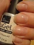 """EzFlow TruGel Crushed Diamond, 14 мл. - гелевый лак """"Алмазная пыль"""" - фото 22140"""