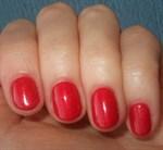 """EzFlow TruGel Racy Red, 14 мл. - гелевый лак """"Сочный красный"""" - фото 22484"""