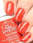 "IBD Just Gel Polish Vixen Rouge, 14мл - гель лак IBD ""Стерва в красном"" - фото 24535"