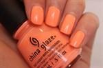 """China Glaze Sun Of A Peach, 14мл - лак для ногтей """"Персиковое солнце"""" - фото 25363"""