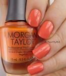 "Morgan Taylor Candy Coated Coral, 15 мл. - лак для ногтей Морган Тейлор ""Сладкий коралл"" - фото 25891"