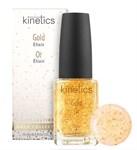 Kinetics Gold Elixir, 15 мл. - Восстанавливающий эликсир для сухих и ослабленных ногтей - фото 27026
