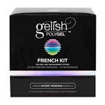 Gelish PolyGel French Kit - набор гелей для френч наращивания Гелиш Полигель - фото 28060