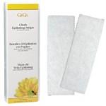 GiGi Cloth Epilating Strips Small, 100 шт. - Безволоконные полоски для эпиляции - маленькие 4х11см