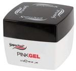 SuperNail Pink Gel, 56 г. - прозрачно-розовый конструирующий гель