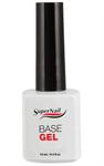 SuperNail Base Gel, 14 г. - базовый гель для моделирования гелевых ногтей