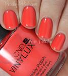 Лак для ногтей CND VINYLUX #163 Desert Poppy, 15 мл. профессиональное покрытие - фото 4292