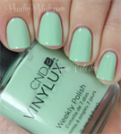 CND VINYLUX #166 Mint Convertible,15 мл.- лак для ногтей Винилюкс №166 - фото 4304