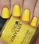 CND VINYLUX #104 Bicycle Yellow,15 мл.- лак для ногтей Винилюкс №104 SALE! - фото 4325