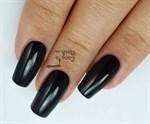 dark dahlia shellac на ногтях
