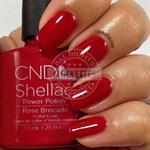 "CND Shellac Rose Brocade, 7,3 мл. - гель лак Шеллак ""Розовый бархат"" - фото 4867"