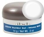 IBD LED/UV Builder Gel Intense White, 14 г. – ярко-белый моделирующий гель для наращивания ногтей