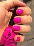 """China Glaze Neon Purple Panic, 14мл.-Лак для ногтей """"Неоновый. Пурпурная паника"""" - фото 7718"""