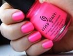 """China Glaze Neon Pink Voltage, 14мл.-Лак для ногтей """"Неоновый. Розовое напряжение"""" - фото 7722"""