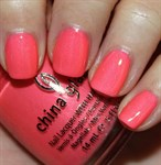 "China Glaze Pink Plumeria, 14 мл. - Лак для ногтей ""Розовая плюмерия"" - фото 7805"