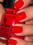 "China Glaze Igniting love,  14 мл. - Лак для ногтей ""Пламенная любовь"" - фото 8178"