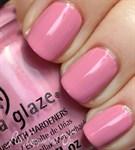 "China Glaze Pink-ie promise, 14 мл. - Лак для ногтей ""Девичьи обещания"" - фото 8264"