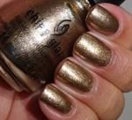 "China Glaze Goldie But Goodie, 14 мл. - Лак для ногтей ""Не всё то золото"" - фото 8417"