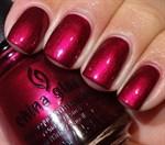 "China Glaze Red-y & Willing, 14 мл. - Лак для ногтей ""Желанный"" - фото 8459"