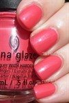 "China Glaze Strike A Rose, 14 мл. - Лак для ногтей ""Сорви розу"" - фото 8589"