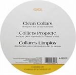 GiGi Clean Collars,20шт. - Бумажные воротнички на аппараты для разогрева воска в банках - фото 9501