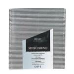 OPI Silver Cushioned File- Серебряная доводочная пилка 180 грит для натуральных ногтей - фото 9897